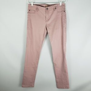 SANCTUARY DENIM Pink Jeans with Tribal Embroidery
